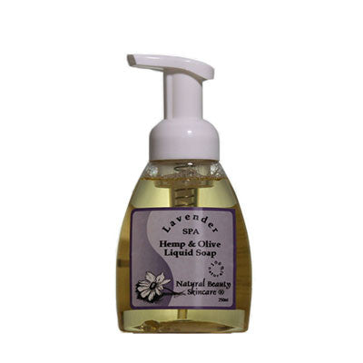 Lavender Spa Hemp & Olive Foaming Soap