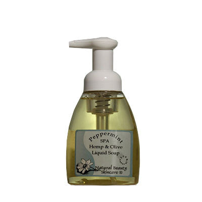 Peppermint Spa Hemp & Olive Foaming Soap