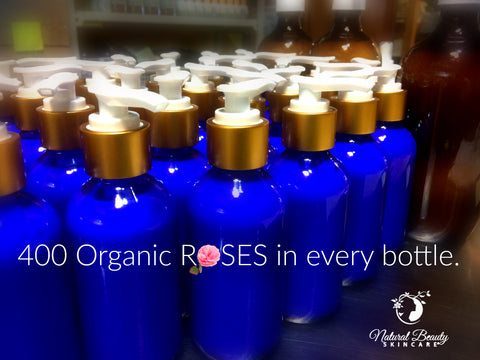Organic Rose Otto Aroma-Therapy Body Lotion