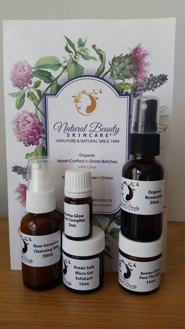 Organic Rose Travel Kit