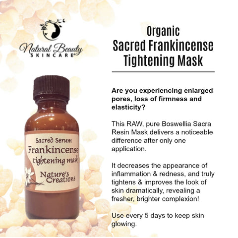 Organic Sacred Frankincense Tightening Mask