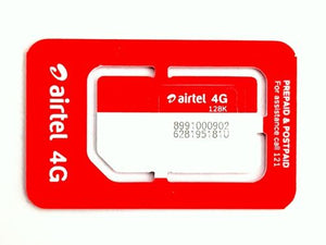 Sim Card for GPS Tracking System (AIRTEL)
