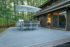 composite deck amazon grey