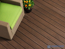 TruEcono Decking in Tropical Walnut