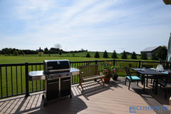 CompositeDeckDirect PVC Deck on golf course