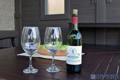 CompositeDeckDirect PVC Deck with wine