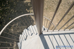 CompositeDeckDirect PVC winding staircase