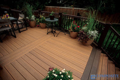 artificial wood decking