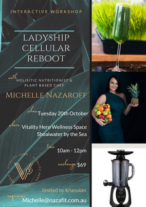 Ladyship Cellular Reboot Interactive Workshop