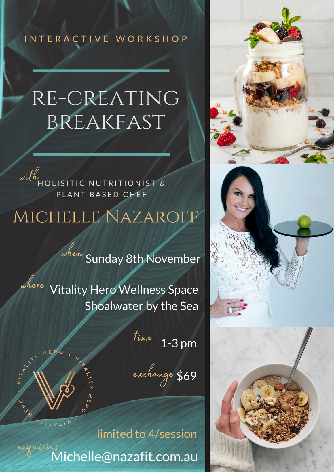 Recreating Breakfast Interactive Workshop
