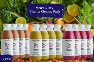 Men's 3 Day Vitality Cleanse (12 Juices)