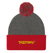 Load image into Gallery viewer, Kotaku Logo Pom-Pom Beanie