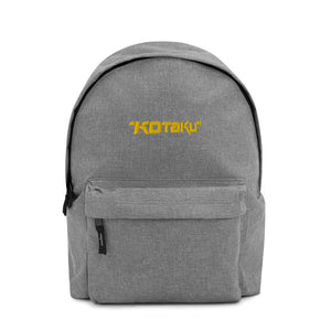 Kotaku Logo Embroidered Backpack