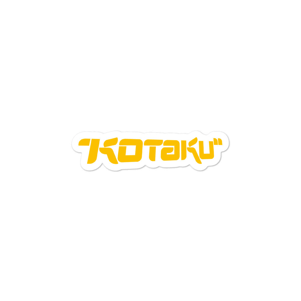 Kotaku Logo Stickers - Yellow