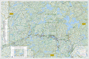 Algonquin Park - Hwy 60 Corridor, ON - Map 501