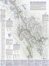 Load image into Gallery viewer, Banff, Yoho & Kootenay Parks, Canada - Map 120