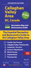 Load image into Gallery viewer, Callaghan Valley Area, BC, Canada - Map 103