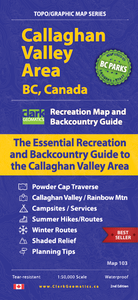 Callaghan Valley Area, BC, Canada - Map 103