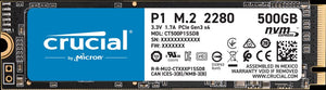 Crucial P1 500GB 3D NAND NVMe PCIe M.2 SSD - Blue Lake Networks