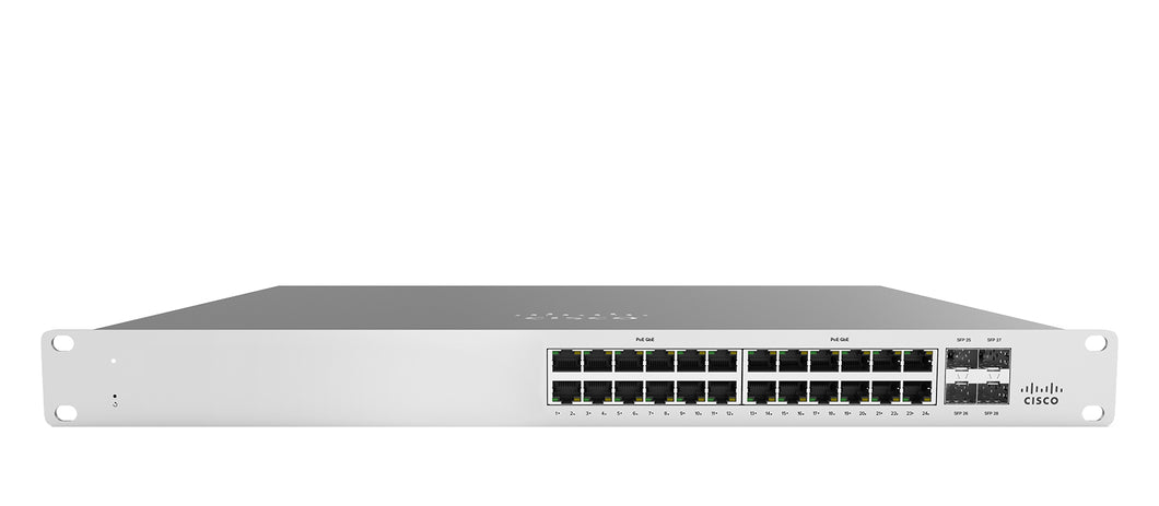 Meraki MS120-24P Switch - Blue Lake Networks