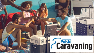 Review of our coolers on polish biggest camping magazine