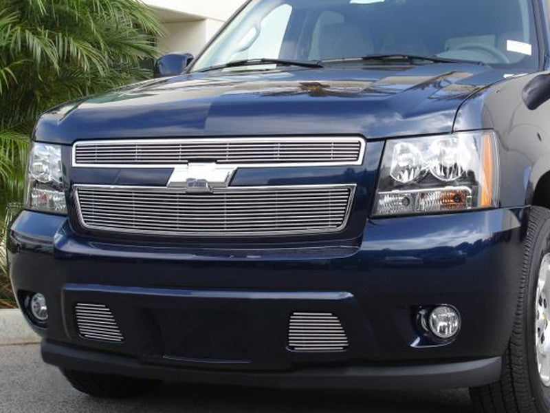 2007 2008 2009 2010 2011 2012 2013 2014 Chevy Suburban Polished Billet Grille grill by T-Rex 21051 & 25051