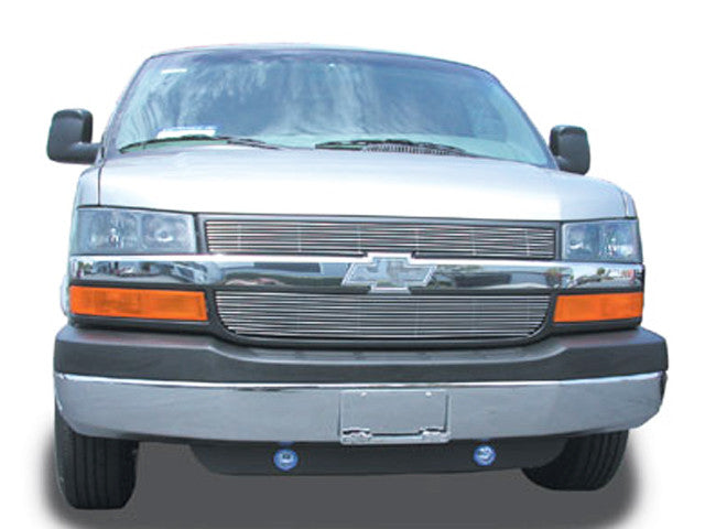 2003 2004 2005 2006 2007 2008 2009 2010 2011 2012 2013 2014 Chevy Express Van Polished Billet Grille grill by T-Rex. 21126