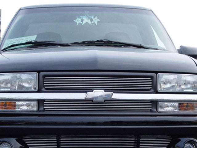 1998 1999 2000 2001 2002 2003 2004 2005 Chevy S-10 Blazer Billet Grille grill Polished S10 grill by T-Rex 21276