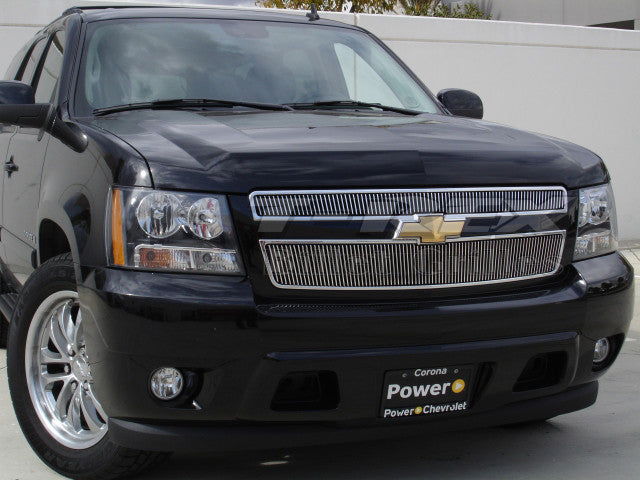 2007 2008 2009 2010 2011 2012 2013 2014 Chevy Tahoe Vertical Polished Billet Grille grill by T-Rex 31051