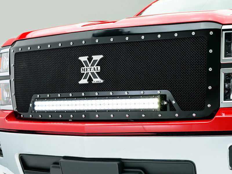 2014 2015 Chevy Silverado 1500 Mesh Grille Grill Torch Series T-Rex 6311191