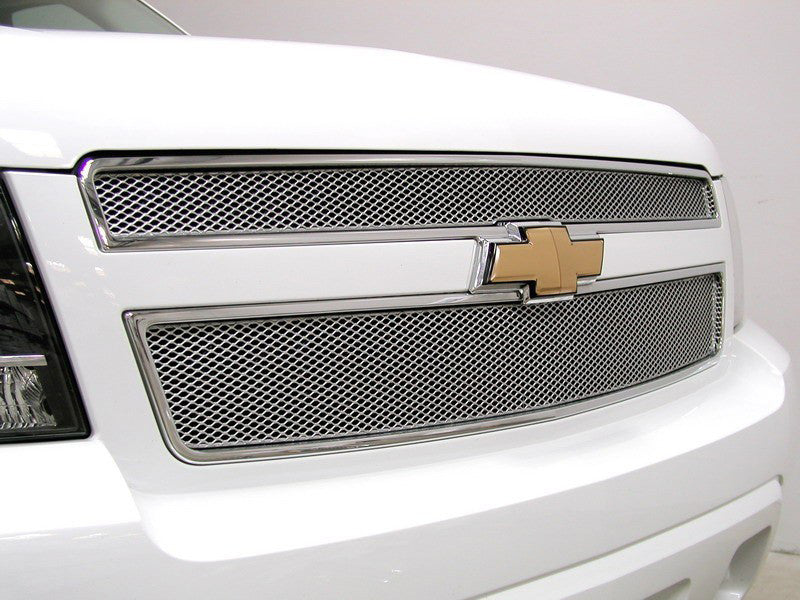 2007 2008 2009 2010 2011 2012 2013 2014 Suburban Mesh Grille Grill MX-Series Silver by GrillCraft CHE1507S CHE1508S