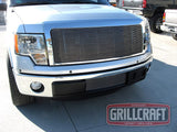 2009 2010 2011 2012 F150 FX2 FX4 XL XLT STX Billet Grille Grill Insert by GrillCraft FOR1311BAC & FOR1312BAO
