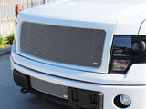 2013 2014 Ford F-150 Mesh Grille Grill Chrome by GrillCraft