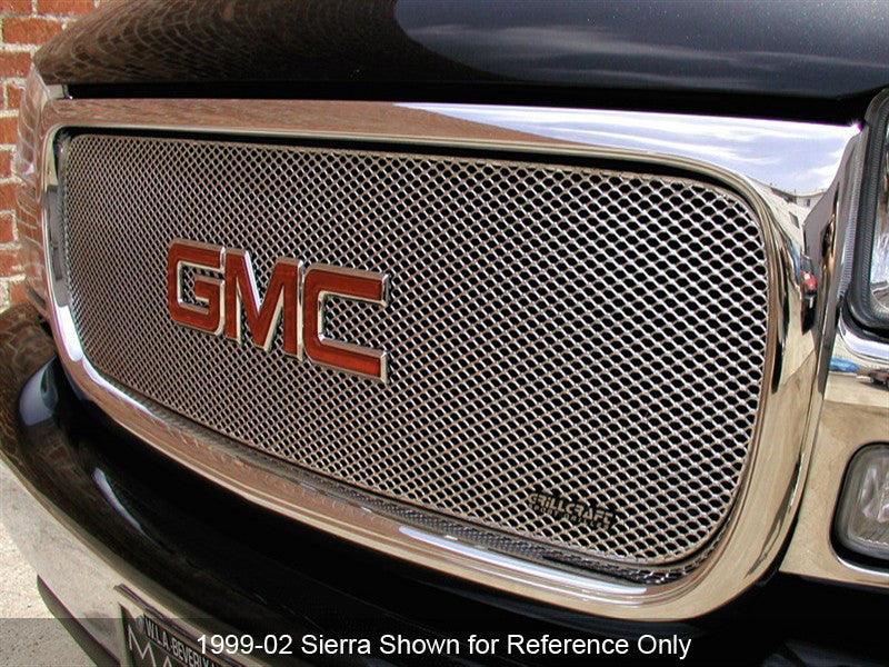 1994-98 GMC C/K Pickup Mesh Grille MX-Series by GrillCraft