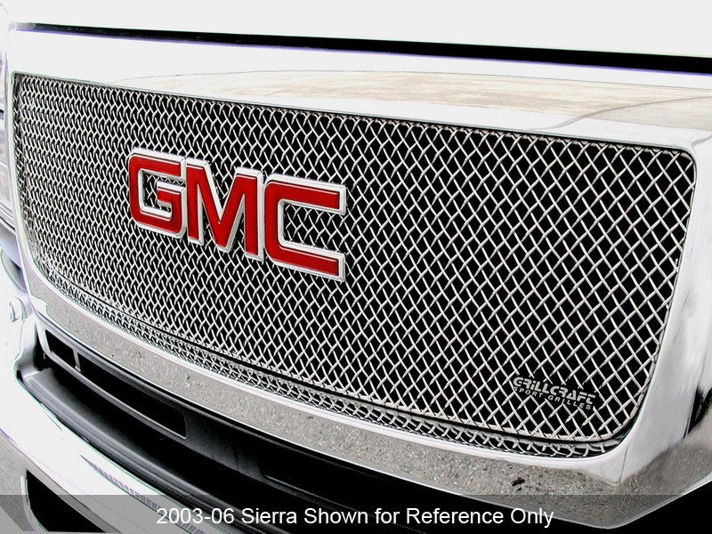 1999-02 GMC Sierra 1500 Mesh Grille SW-Series by GrillCraft