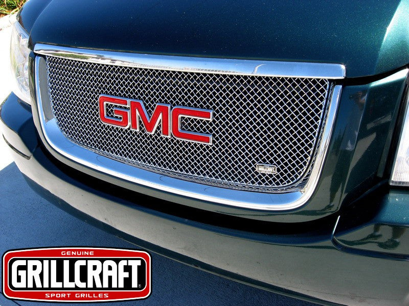 2002-09 GMC Envoy Mesh Grille SW-Series by GrillCraft