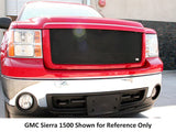 2011 2012 2013 2014 GMC Sierra 2500 3500 Mesh Grille Grill MX-Series Black by GrillCraft GMC2032B