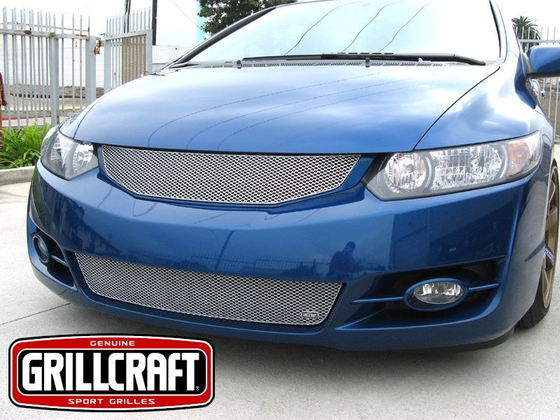2009-11 Honda Civic Coupe Mesh Grille MX-Series by GrillCraft