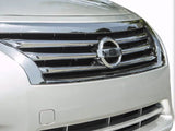 2013 2014 2015 Altima Sedan 4DR Grille Grill Chrome Overlay by CCI GI-114