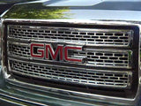 2014 2015 Sierra 1500 Grille Grill Snap-On Chrome Overlay by CCI gi-123 iwcgi123