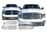 2013 2014 2015 Ram 1500 Chrome Snap-On 4Piece Grille Grill Overlay by CCI IWCGI-119