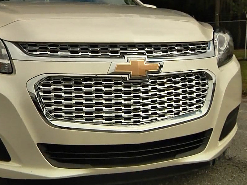 2014 Chevy Malibu Grille Grill Chrome