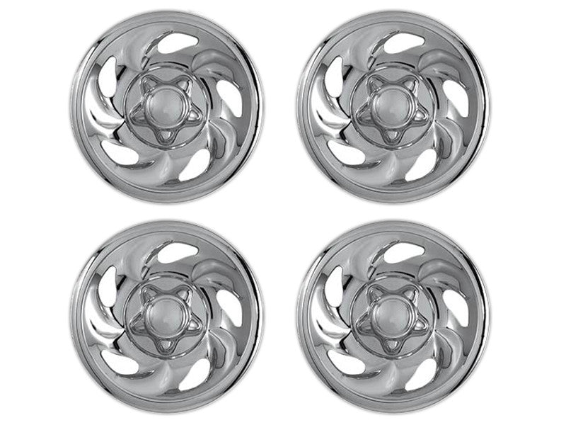 "1997-03 Ford F-150 Chrome 16"" Wheel Skin Cover Set by CCI"