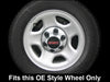 "2000-06 Chevy Tahoe Chrome 16"" 6 Lug Wheel Skin Cover Set by CCI"
