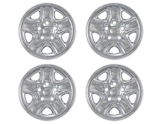 2007 2008 2009 2010 2011 2012 2013 2014 2015 2016 2017 Tundra Chrome Wheel Skin Cover Hub Caps IWCIMP-77X IMP77X