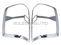 Silverado 1500 chrome tail light covers 2014 2015 trim