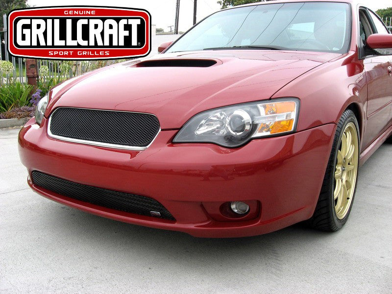 2005-07 Subaru Legacy Mesh Grille MX-Series by GrillCraft