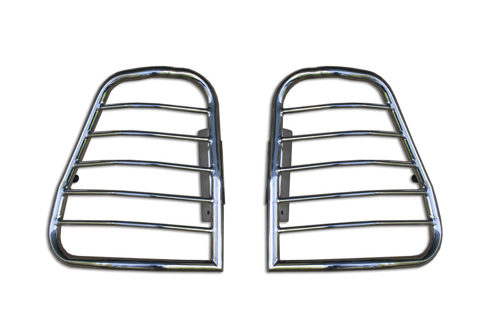 1998 1999 2000 2001 2002 2003 Durango Chrome Taillight Guard Set