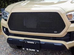 2016 2017 Tacoma Mesh Grille Grill MX-Series Black by GrillCraft