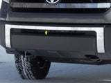 2014 2015 2016 2017 Tundra Chrome Front Bumper Accent Trim Overlay by QAA FB14145